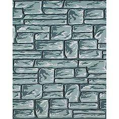 Pacon Fadeless Flagstone Pattern Art Paper Roll, 48 in x 12 ft