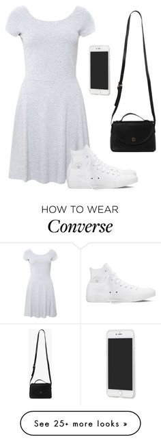 """Untitled #1948"" by hannahmcpherson12 on Polyvore featuring Forever 21, Converse and Azalea"