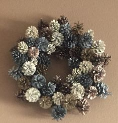 I made this wreath for my neighbors