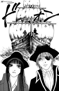 Pirate Sunako and Kyohei