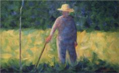 Le Jardinier (The Gardener) by Georges Seurat  Completion Date: 1882  Place of Creation: France  Style: Post-Impressionism