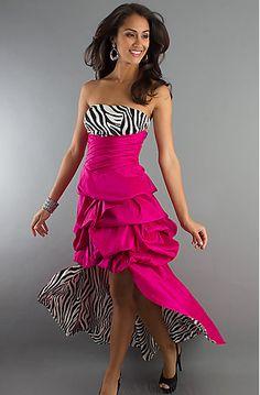 Zebra Print Bridesmaid Dresses 61