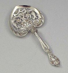 Gorham H series bon bon spoon
