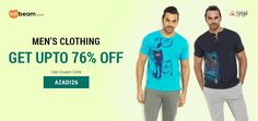 Use Coupon Code AZADI26 & Get Up To 76% OFF on Urban Yoga Men's Clothing !  #UrbanYoga #MensClothing #MensWear #Clothing #Discount #Offer