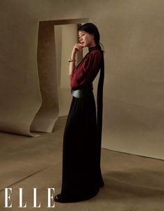 ELLE × Cao Viên Viên (11/2020) High Neck Dress, Magazine, Formal, Dresses, Style, Fashion, Turtleneck Dress, Preppy, Vestidos