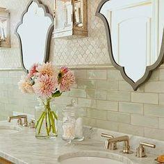 I love the tile! South Shore Decorating Blog