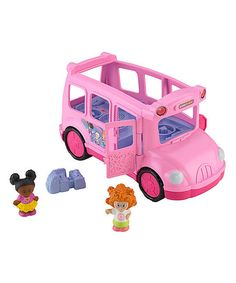 """Fisher-Price Little People Lil' Movers School Bus - Fisher-Price - Toys""""R""""Us Toddler Girl Gifts, Baby Girl Toys, Toys For Girls, Toddler Toys, Toddler Christmas Gifts, Best Christmas Gifts, Preschool Block Area, Toys For 1 Year Old, Wheels On The Bus"""