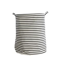 House Doctor Stripes Pattern Laundry Bag With Two Handles Stripes laundry basket by house doctor. Folding Laundry, Laundry Storage, Laundry Hamper, Storage Baskets, Bag Storage, House Doctor, House Painting Cost, Best Interior Design Blogs, Affordable Storage