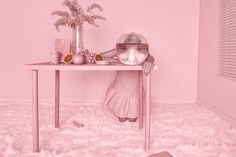 It's trending: 9 Examples of the Total Look in Pink via Eclectic Trends