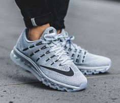 Nike Air Max 2016: Grey/Blue