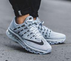 Nike Air Max 2016: Grey/Blue