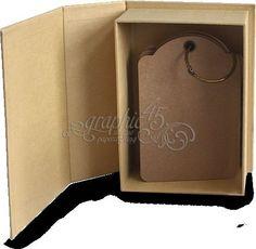 Graphic 45 Staples Regular Tag Album Book Box 4500844 | eBay