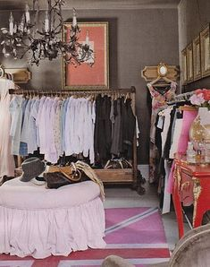 i want a walk in wardrobe like this