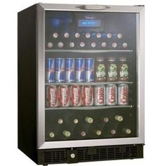 $949 - Danby Silhouette 112-Can Built-In Beverage Center-DBC514BLS at The Home Depot