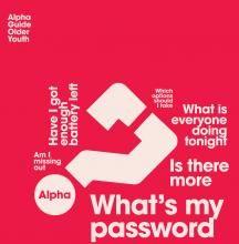 Alpha Guide - Older Youth | Alpha Shop UK