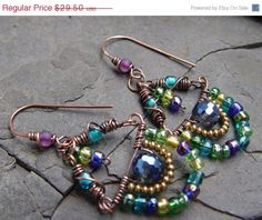 SALE Gypsy Swags  Faceted Crystal Glass Brass and by jeanawells, $25.08
