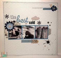 Mad Scrap Project: Reto de noviembre: Lo mejor del frío
