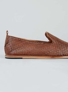 Ipanema Tan Leather Woven Shoes - Men's Dress Shoes - Shoes and Accessories - TOPMAN USA
