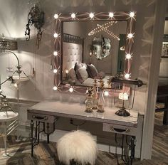 European Inspired Design - Our Work Featured in At Home. - Home Decor Ideas Dream Bedroom, Home Bedroom, Bedroom Decor, Bedrooms, Bedroom Ideas, Mirror Bedroom, Bedroom Designs, European Home Decor, Beauty Room