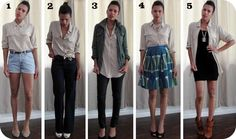 how to wear a button down shirt with jeans | What's your favorite way to wear a silk button down? Do you like it ...