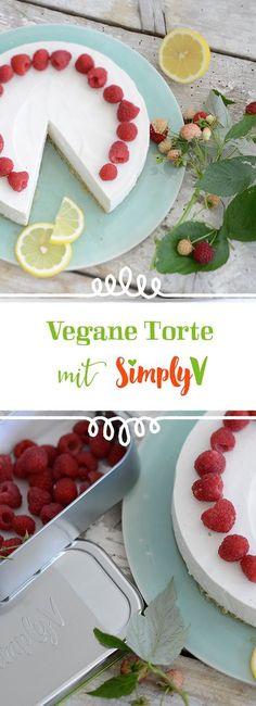 Himmlisch! Eine leckere Simply V Torte gelingt mit dem Streichgenuss Cremig-Frisch aus Mandeln. Rein pflanzlich und vegan!