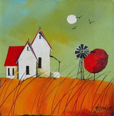 Artwork of Glendine exhibited at Robertson Art Gallery. Original art of more than 60 top South African Artists - Since Pretty Drawings, Art Drawings, Building Art, Naive Art, African Art, Landscape Paintings, Landscapes, Watercolor Paintings, Art Paintings