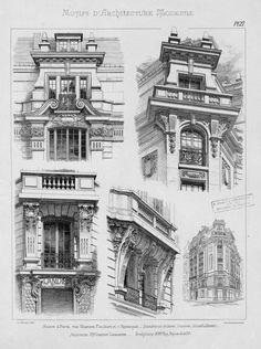 Motifs d'architecture moderne | Noe, L.