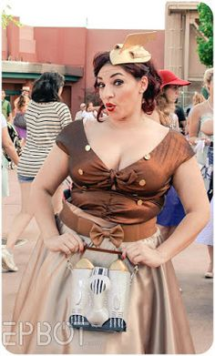 Last Saturday the dapper crowds descended on Disney's Hollywood Studios, and we were lucky enough to get the year's first almost-cool weat. Dapper Day, Hollywood Studios, Disneybound, Crowd, Style Inspiration, Fall, Tops, Women, Fashion