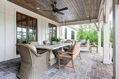 Southern Living Design House in Little Rock, Arkansas – deborahwoodmurphy Outdoor Rooms, Indoor Outdoor, Outdoor Living, Outdoor Patios, Outdoor Kitchens, Outdoor Landscaping, Outdoor Seating, Outdoor Decor, Southern Living Homes