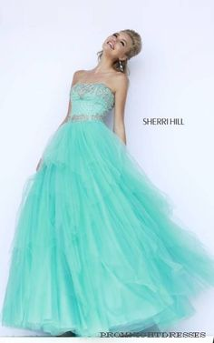 Shop classic ball gowns and ball gown prom dresses at PromGirl. Ballroom gowns, long formal dresses, designer prom ball gowns, plus-sized ball gowns, and ball gown dresses. Aqua Prom Dress, Sherri Hill Homecoming Dresses, Cute Prom Dresses, Prom Dresses 2016, Designer Prom Dresses, Mob Dresses, Designer Gowns, Pretty Dresses, Formal Dresses