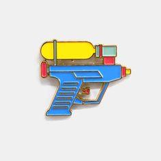 Water gun Pin