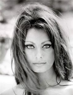 sophia loren ~ beautiful eyes and notice the eyebrows girls! Thai is not Sophia Loren ! Looks just like her, she is a model ! Vintage Hollywood, Hollywood Glamour, Hollywood Stars, Hollywood Actresses, Classic Hollywood, Classic Beauty, Timeless Beauty, True Beauty, Iconic Beauty