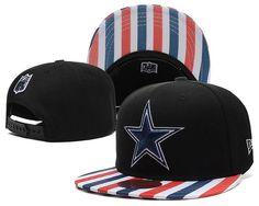 9a6c147e8 NFL Dallas Cowboys Black Snapback Hats--TX