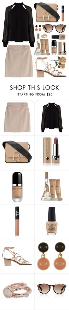 """""""SANDALS #1"""" by ismidilianda ❤ liked on Polyvore featuring Steffen Schraut, Karen Millen, 3.1 Phillip Lim, Marc Jacobs, NARS Cosmetics, OPI, Chloé, Lola Rose, Fendi and Pier 1 Imports"""