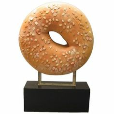 This early pop art sculpture by Oldenburg was found to be in relatively good condition, minus a few sesame seeds. THE LEGAB MUSEUM NEAR BOS. Claes Oldenburg Sculptures, Pop Art Party, Food Sculpture, Candy Pop, Clay Food, Cultura Pop, Everyday Objects, Summer Art, Art Sketchbook