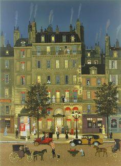 Michel Delacroix French Artist... Grand Hotel