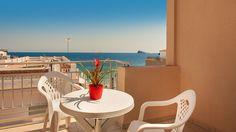 Hotel RH Sol - Vistas al Mar desde balcón Outdoor Furniture Sets, Outdoor Decor, Travel, Home Decor, Ocean Views, Balconies, Restaurants, Viajes, Decoration Home