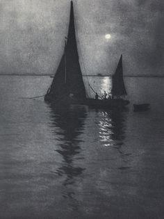"birdsong217: "" Alvin Langdon Coburn Moonlight, c.1907. """