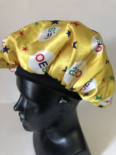aa160c6171bad Order of the Eastern Star OES Sleep Bonnet Cap-Yellow - Brothers and Sisters .  Brothers and Sisters  Greek Store