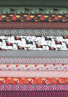 Windham Fabrics, Wild Field in FAT QUARTERS 13 Total