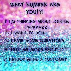 What number are you? Paparazzi Accessories, 24034