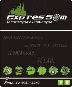 Sonorização e Iluminação Profissional para seu evento. Casamento, aniversario, formaturas e bandas. (42) 8818-4377 Dona Estefania 2024