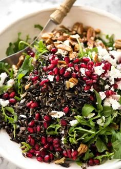 WILD RICE SALAD - RecipeTin Eats