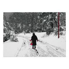 Walk In Snow Posters