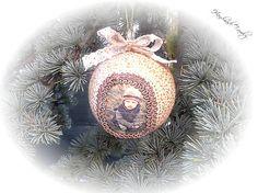 HandmadeFamily / Vianočnà guľa s vlasnou fotkou