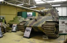 German World War II Tiger tank at Bovington Tank Museum.