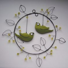 """,,Summer gathering in BOBULKÁCH,, - wired wheel of the collection """"Birds of the World"""""""
