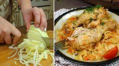 Zabudnite na zemiaky ani ryžu, toto je fantastické: Len 1 hlávka kapusty, 4 stehienka, 1 mrkva a vrecko – geniálny obed po ktorom netreba umývať riad! I Foods, Cauliflower, Shrimp, Cabbage, Low Carb, Treats, Chicken, Bacon, Vegetables