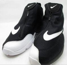 b2094ffdde5 Gary Payton Nike Zoom Glove. Atrention to detail! Black White Red
