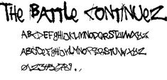 Download 30 free graffiti fonts | Typography | Creative Bloq